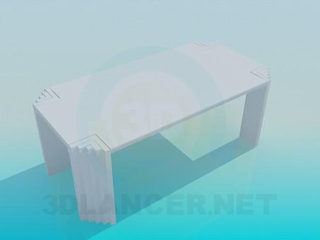 3d модель Оригінальний стіл – превью