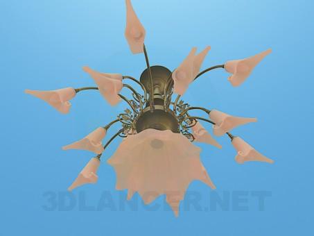modelo 3D Lámpara de luz volumétrica - escuchar