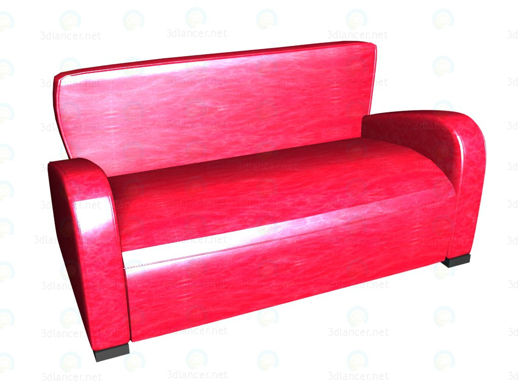 3d model sofa bed 3 seater emily vox download for free for Sofa bed 3d model