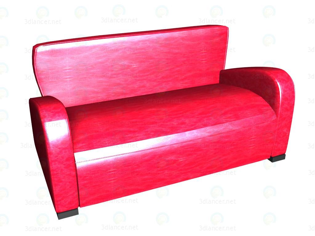 3d model Sofá cama 3 plazas Emily - vista previa