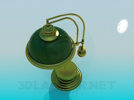 modelo 3D Lámpara de mesa - escuchar