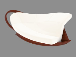 Sofá en estilo Art Nouveau
