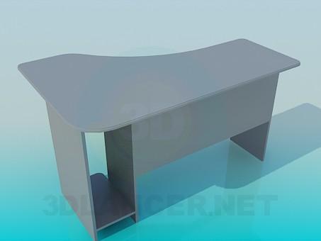 3d model Computer Desk - preview