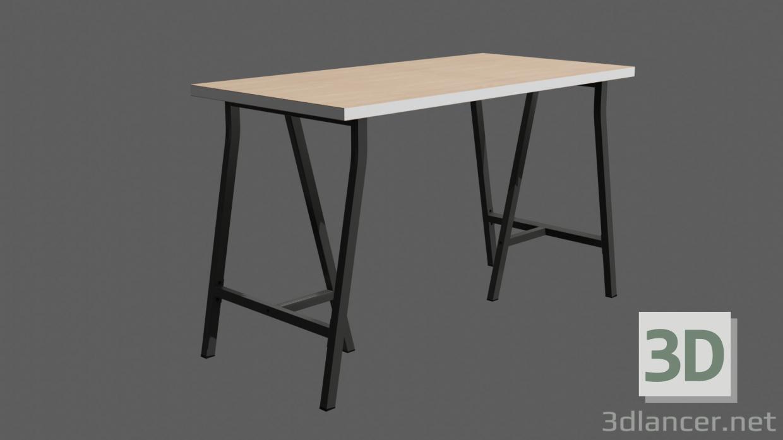 3 डी मॉडल तालिका LINNMON / LERBERG - पूर्वावलोकन
