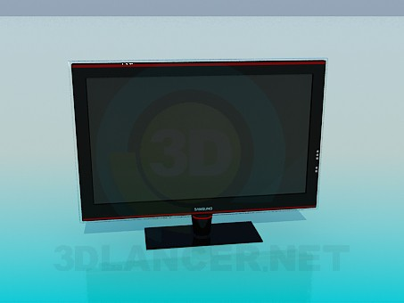 3d modeling Tv model free download