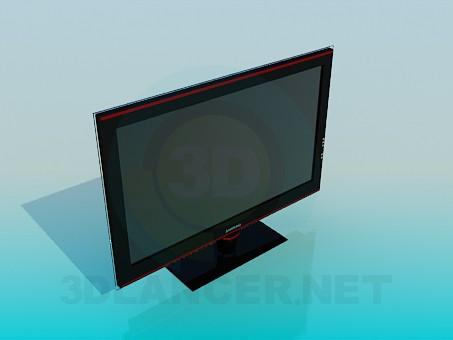 3d модель Телевізор – превью