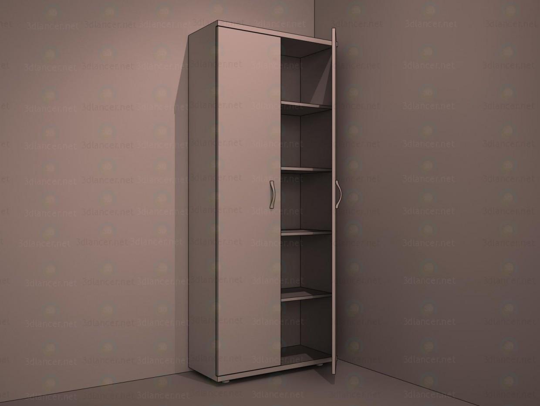 3d Шкаф под документы 1 модель купить - ракурс