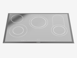Built-in induction cooker PKC875N14A