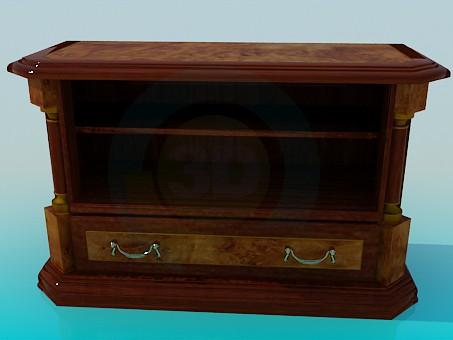 3d model Mueble para televisión - vista previa