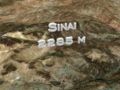 Mount Sinai 3D model, Egypt / 3D model of Mount Sinai, Egypt