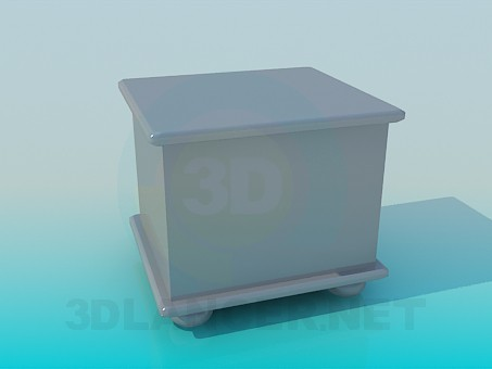descarga gratuita de 3D modelado modelo Gabinete de la cabecera