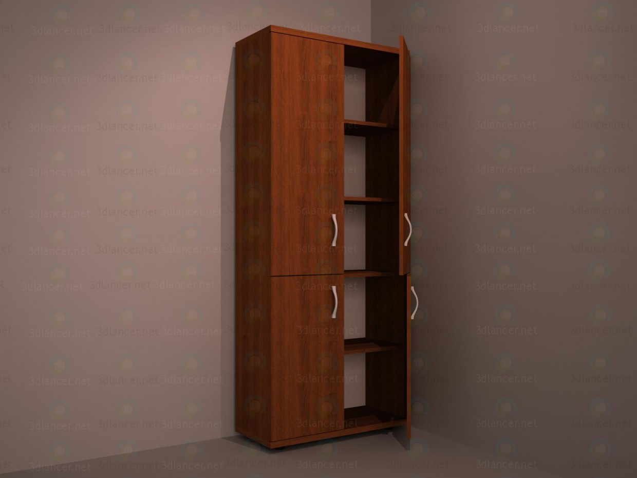 cabinet paid 3d model by andrejkos preview