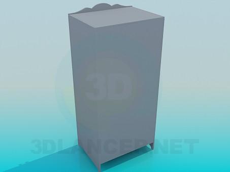 modelo 3D Armario - escuchar