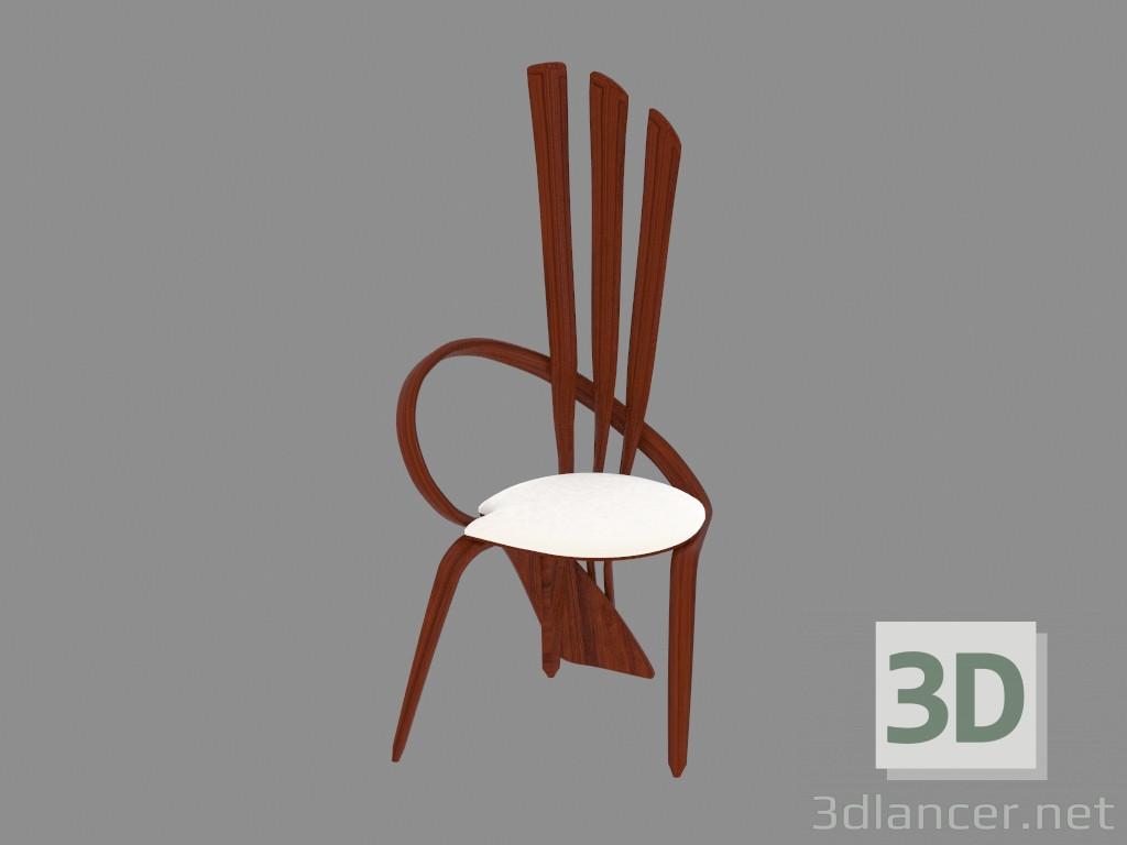Chaise Style Art Nouveau modèle 3d chaise en bois en style art nouveau,Актуальный