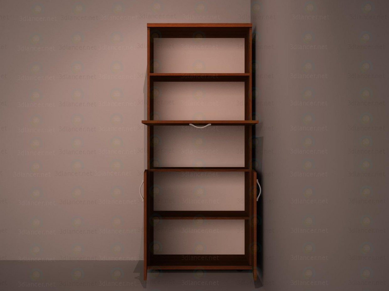 3d The cupboard for documents model buy - render
