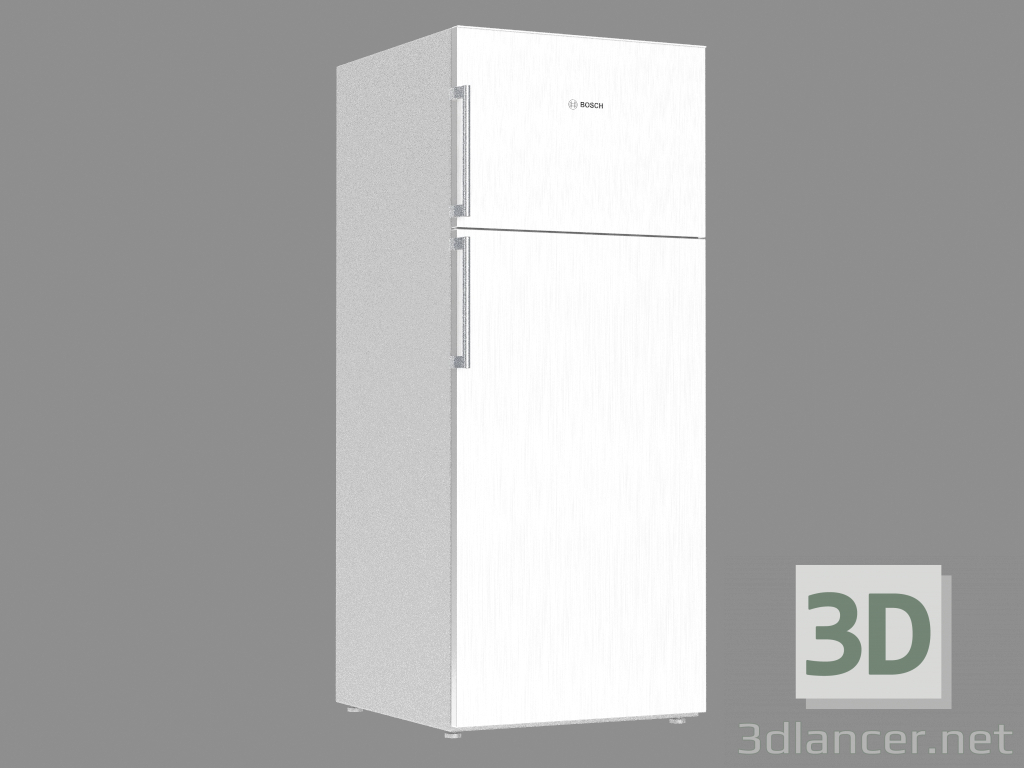 3d model Refrigerator KDN53VW30A (170x70x74) - preview