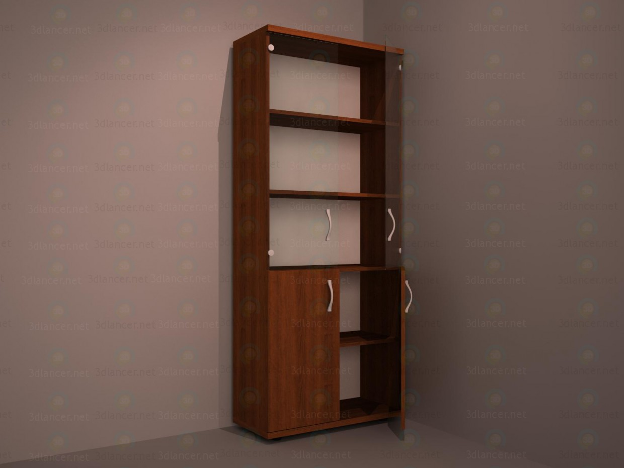 Сupboard for documents paid 3d model by andrejkos preview