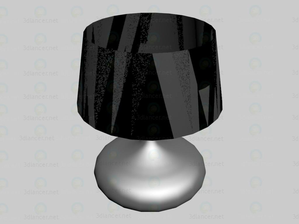 3d модель Лампа Wincent черная – превью