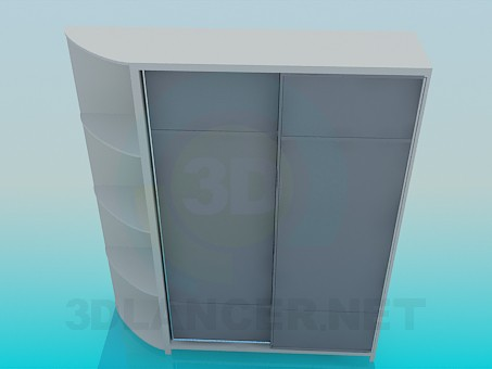 descarga gratuita de 3D modelado modelo Armario