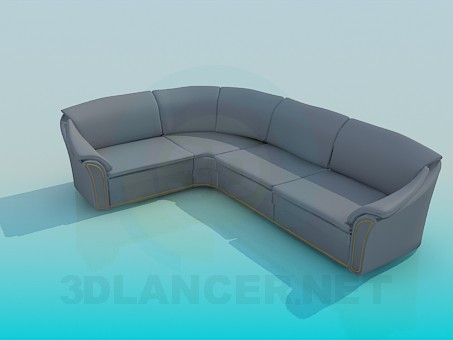 3d model Couch - preview