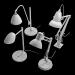 3d 4-Study-Lamp model buy - render