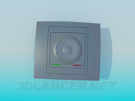 3d model Light switch - preview