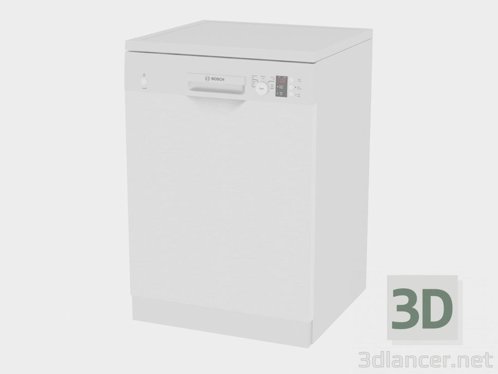 3 डी मॉडल डिशवॉशर SMS50E38AU - पूर्वावलोकन