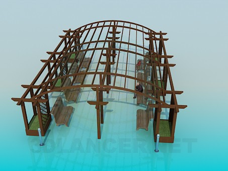 3d model A place to relax - preview
