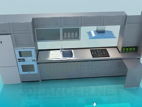 descarga gratuita de 3D modelado modelo Juego de cocina