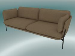 Sofa Sofa (LN3.2, 84x220 H 75cm, Warm black legs, Hot Madison 495)
