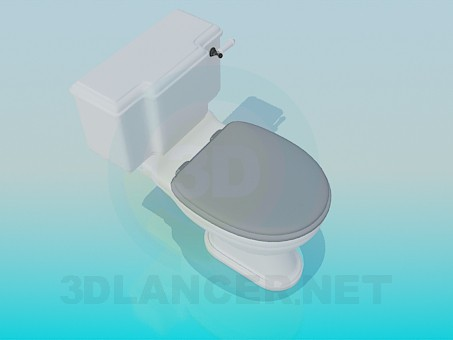 3d modeling Toilet model free download