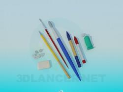 Kit de herramientas del artista