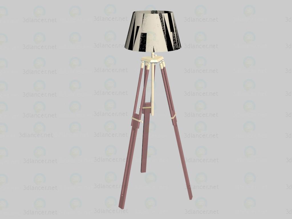 3d model Lámpara de pie Casablanca - vista previa