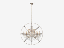Chandelier IRON ORB CHANDELIER (CH014-12-LRR)
