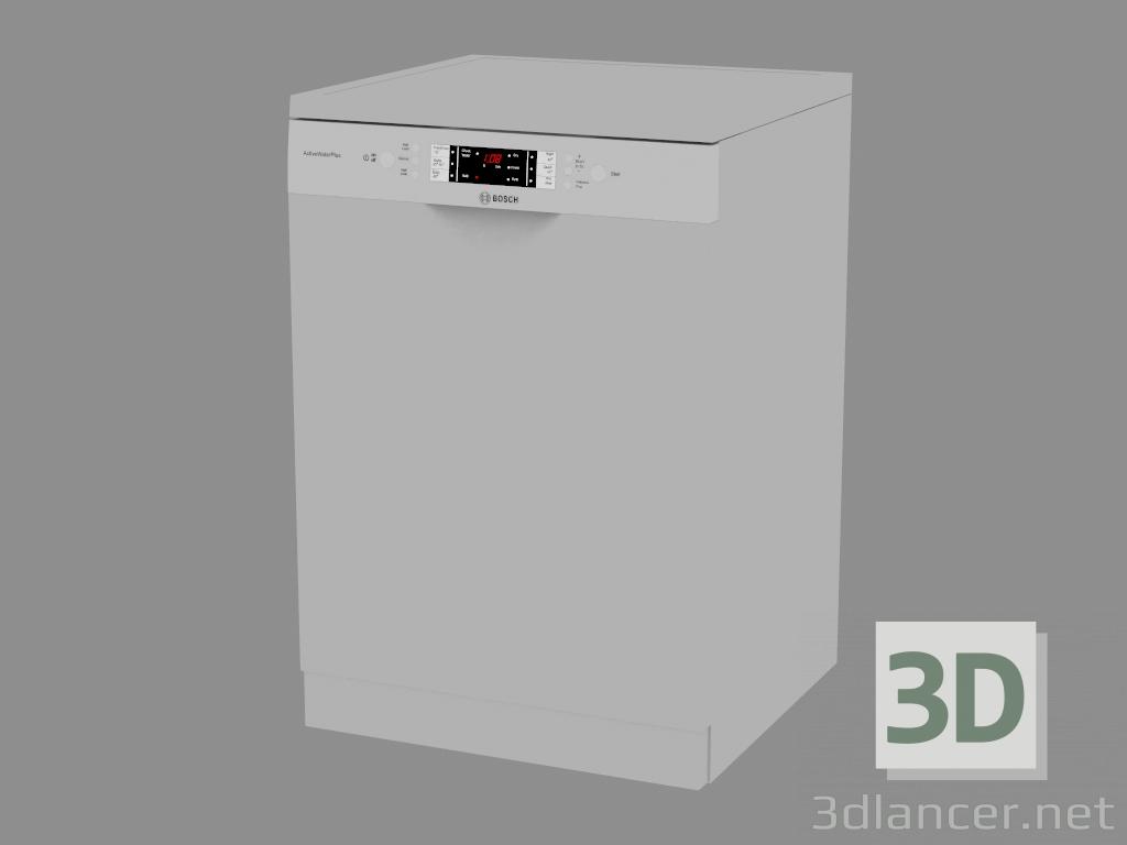 3 डी मॉडल डिशवॉशर SMS63M28AU - पूर्वावलोकन