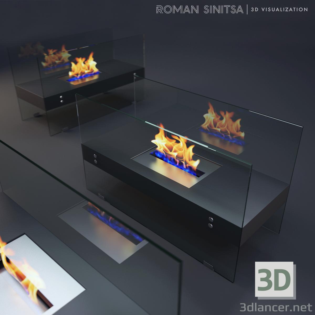 3 डी मॉडल बायो चिमनी - पूर्वावलोकन