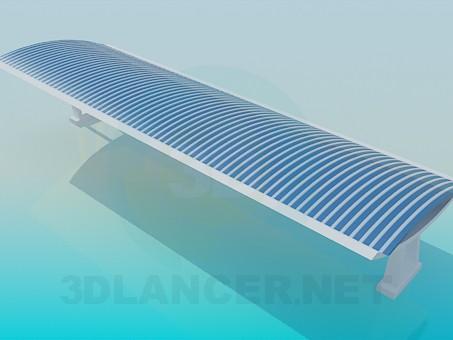 modelo 3D Tienda de la playa - escuchar