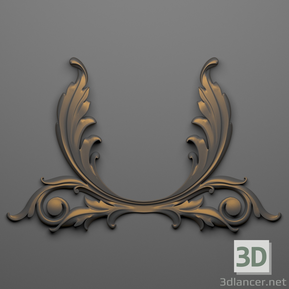 3d Decor 64 model buy - render