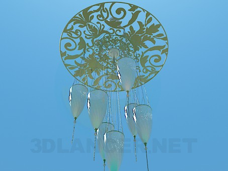 3d model The original chandelier - preview