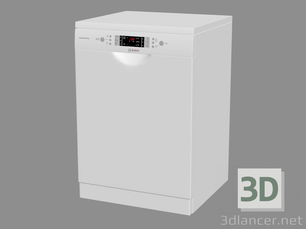 3 डी मॉडल डिशवॉशर SMS68M22AU - पूर्वावलोकन