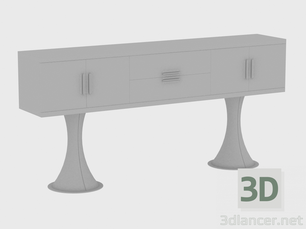 3d model OSCAR CABINET cabinet (240X45XH107) - preview