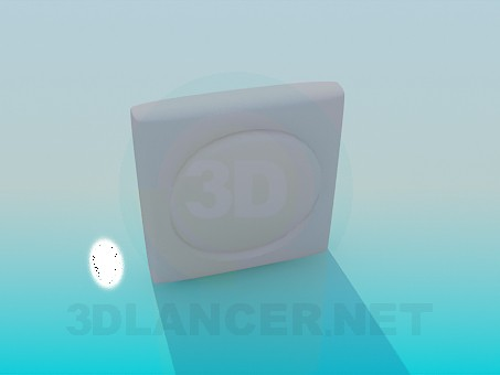3d model Round switch - preview
