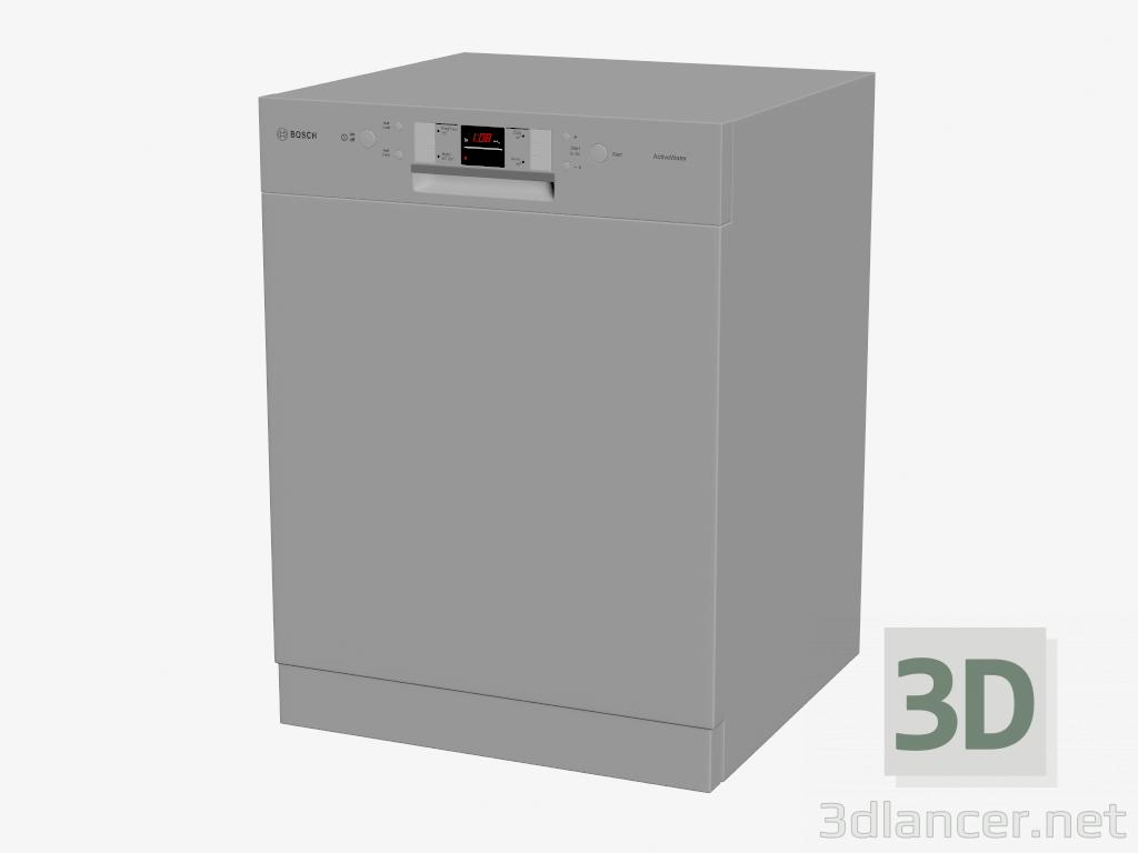 3 डी मॉडल डिशवॉशर SMU40M05AU - पूर्वावलोकन