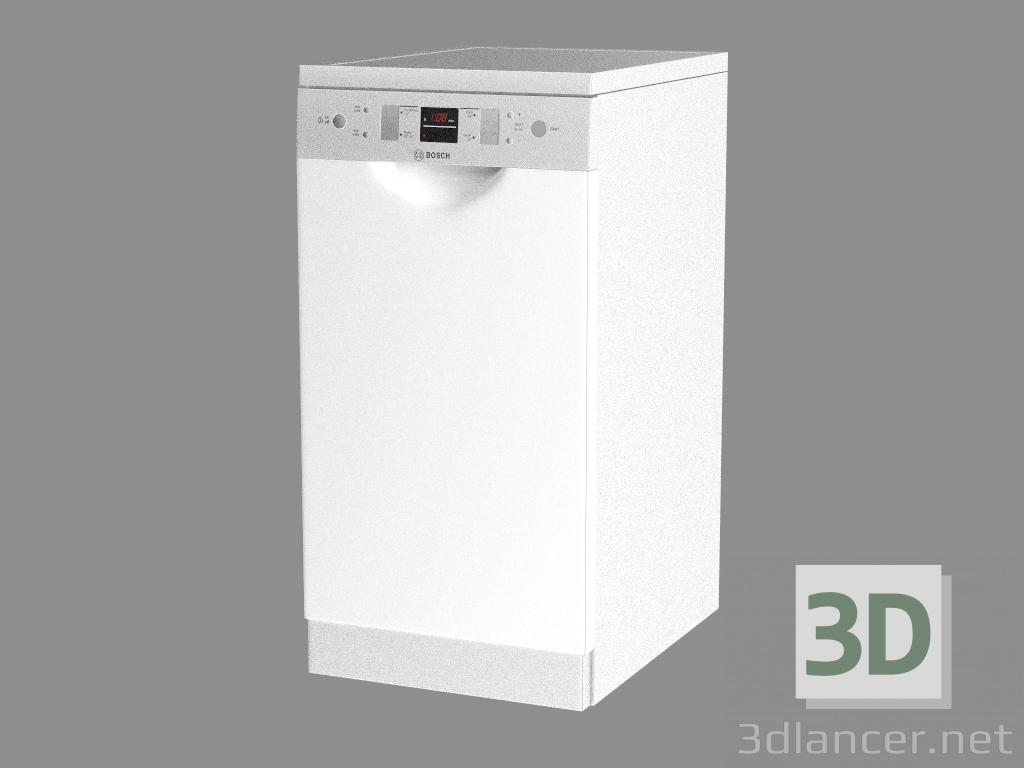 3 डी मॉडल डिशवॉशर एसपीएस 60 एम 080 एयू - पूर्वावलोकन