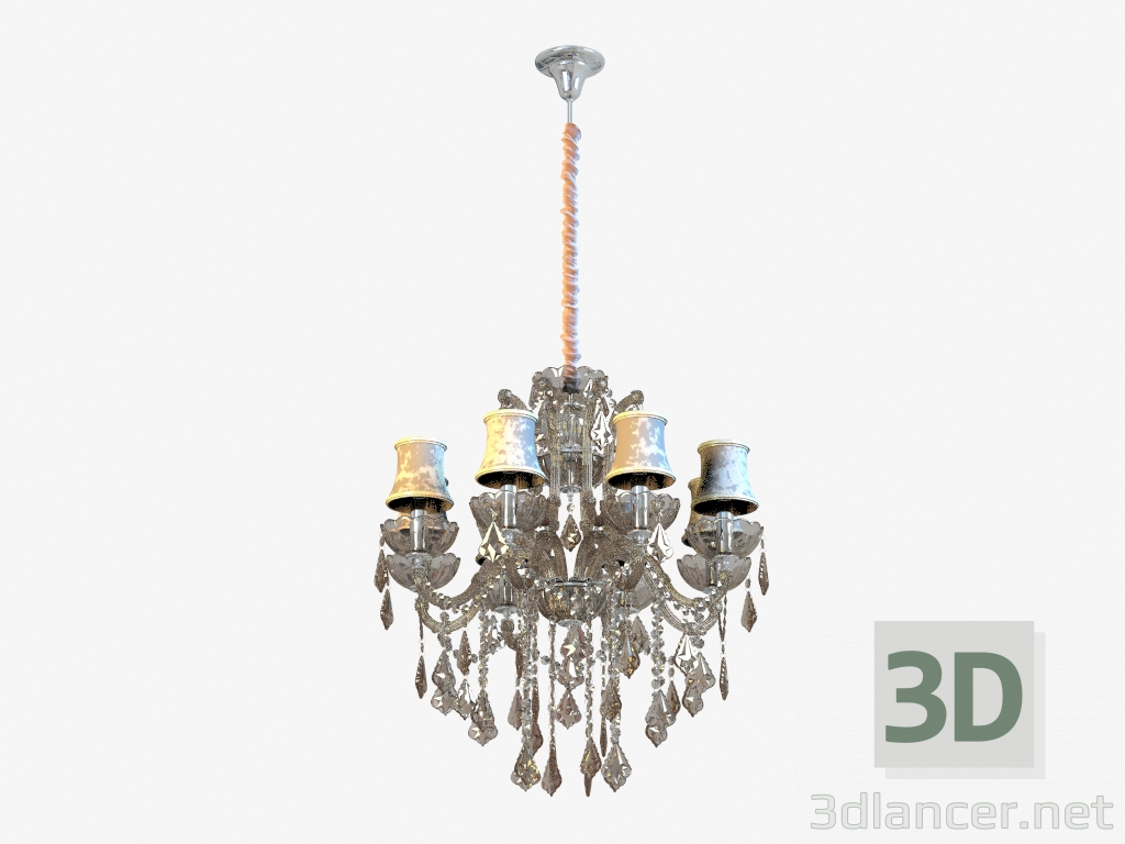 3d model Chandelier 475010208,CHIARO max(2013), - Free