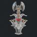 3d Fantasy sword 18 3d model model buy - render