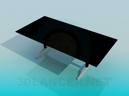 3D Modell Der Schreibtisch - Vorschau