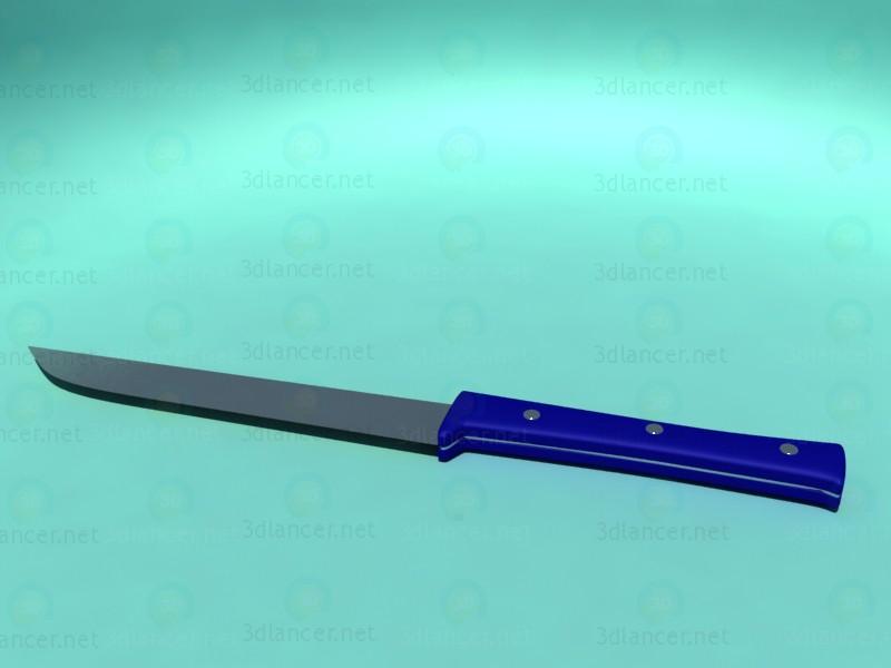 modelo 3D Cuchillo de cocina - escuchar