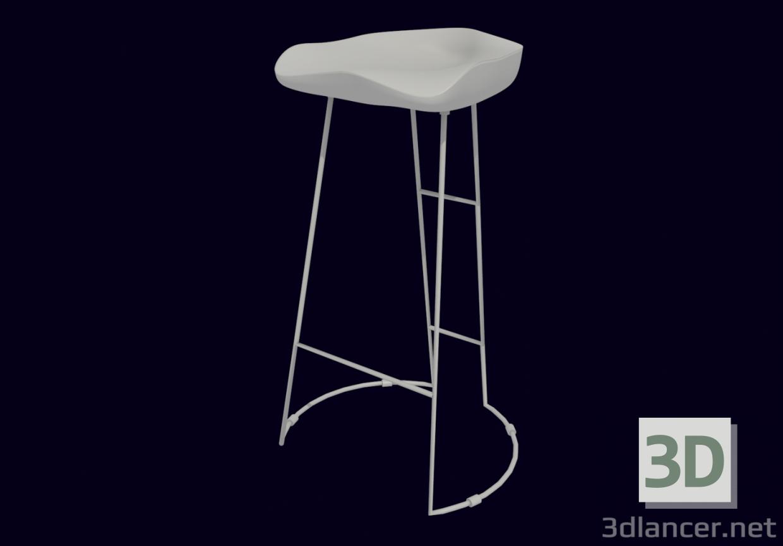 3d model half chair Kolo Max - preview