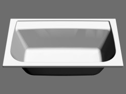 Rectangular bath Praktik N (150x85, left)